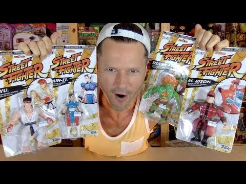 """Is It Too Late For Funko Savage World? Street Fighter 55"""" Collection Unboxing Review"""