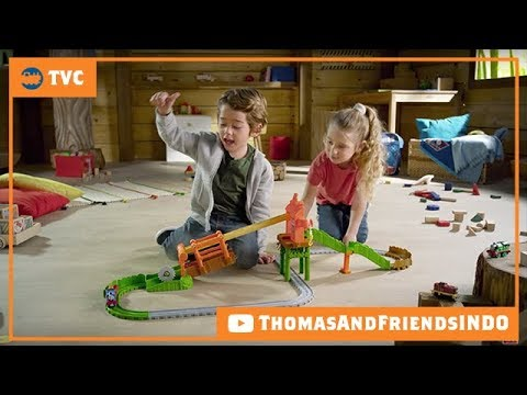 Kereta Thomas & Friends indonesia: TVC Thomas Adventures - Misty Island Zip Line