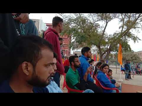 volleyball  tournament  sikar rajasthan vs Gujarat academic  west zone  tournament 2018 at Tantia  u