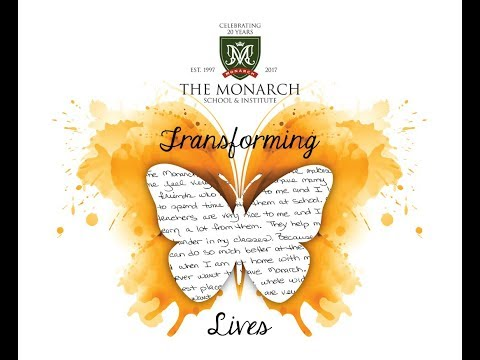 The Monarch School and Institute 2018