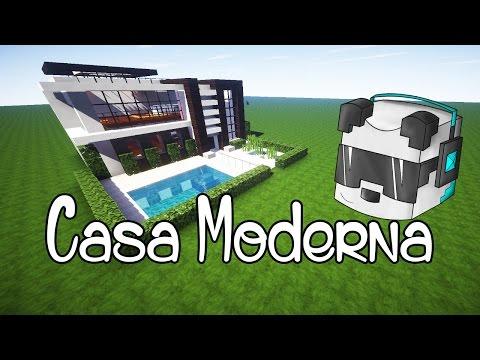 Como hacer una mansion moderna en minecraft parte 1 doovi for Como disenar una casa moderna