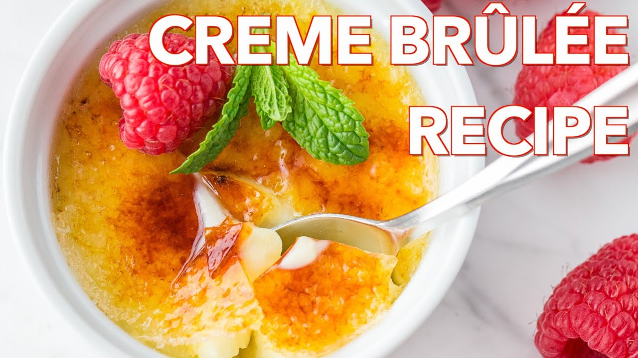 Dessert Creme Brulee Recipe Natashas Kitchen Youtube