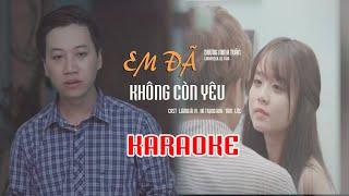 [Karaoke] Nếu Em Đã Không Còn Yêu - Dương Minh Tuấn