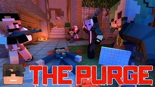 SCHOOL SANCTUARY | Minecraft THE PURGE Roleplay | Episode 2