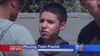 Critical Missing Teen Found Safe And Sound