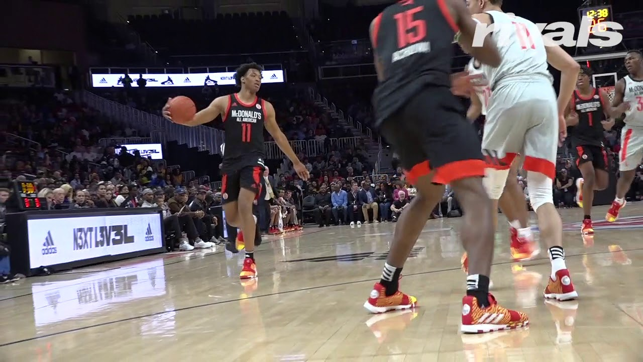 f989e992cac5 McDonald s All American Game  Wendell Moore Jr. Highlights - YouTube