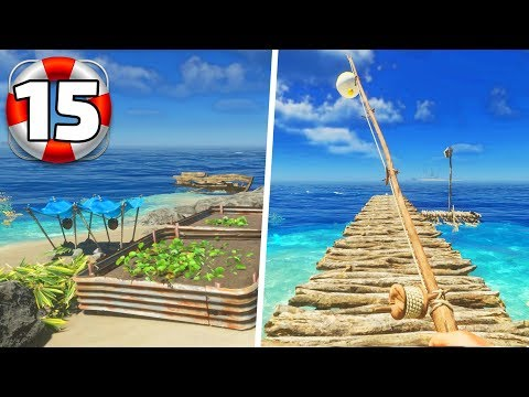 Stranded Deep - Part 15 - Farming and Fishing!