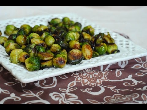 Roasted Brussels Sprouts ~ Healthy Vegan Recipe