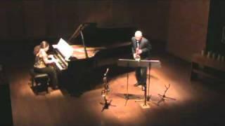Gloria Beatriz, bambuco para saxofón alto y piano de León Cardona