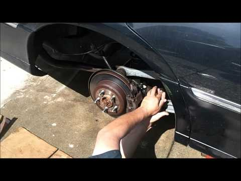 How To Install Rear Brakes & Rotors 2002 Lincoln Town Car
