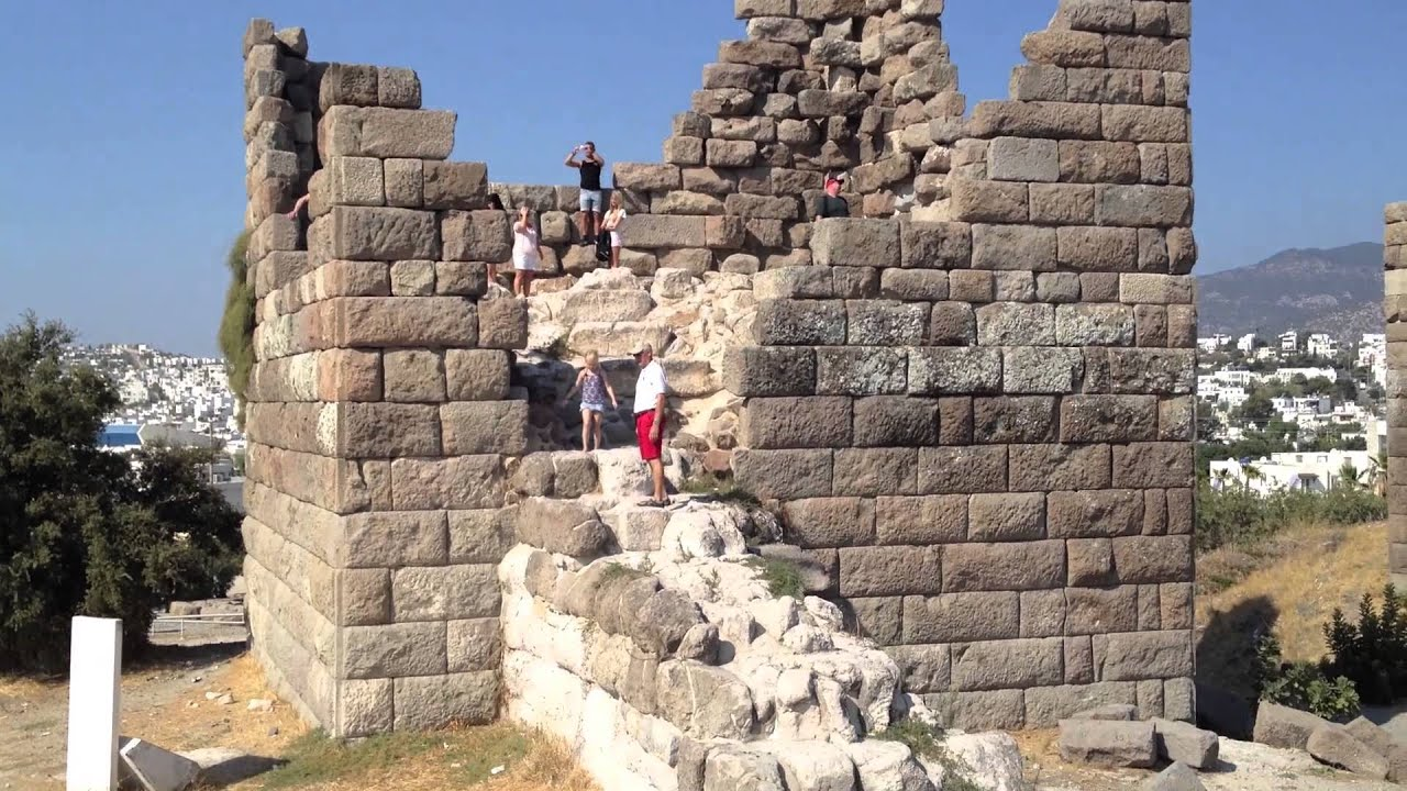 Bodrum Myndos gate (Turkey) - YouTube