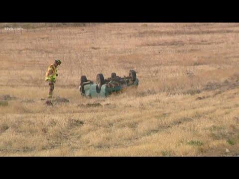 Pickup's driver killed in I-84 crash east of Boise