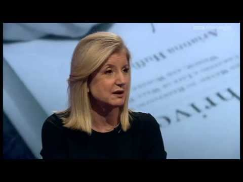 Arianna Huffington on stress, the workplace and Jill Abramson's sacking - Newsnight