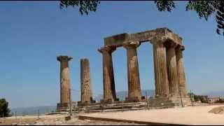 Коринф (Греция)(древнегреческий и современный город на Коринфском перешейке, соединяющем Среднюю Грецию и Пелопоннес,, 2015-11-15T18:11:47.000Z)