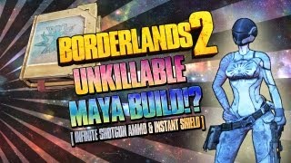 Borderlands 2: UNKILLABLE Impulsive Backdraft Maya Build - Level 61 & 72 Build in Description!