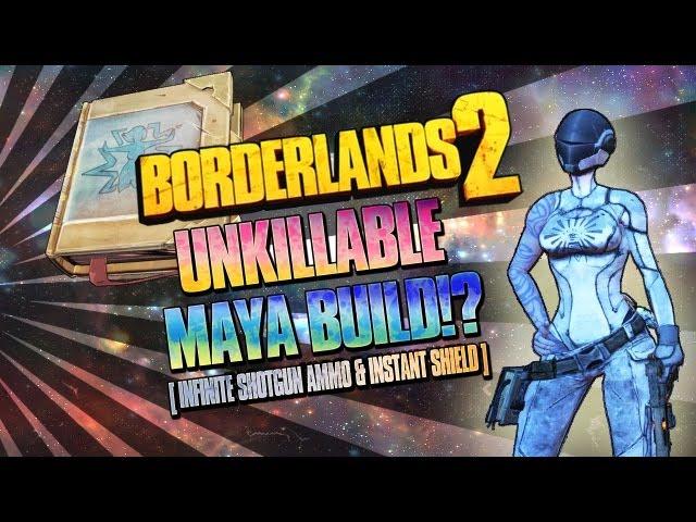 Borderlands 2: UNKILLABLE Impulsive Backdraft Maya Build - (Epilepsy  warning)