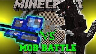 MOTHRA VS GODZILLA - Minecraft Mob Battles - Boss Mods