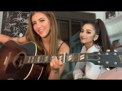 7RINGSAriana Grande - Sofia e Leticia Hally Ariana Grande cover