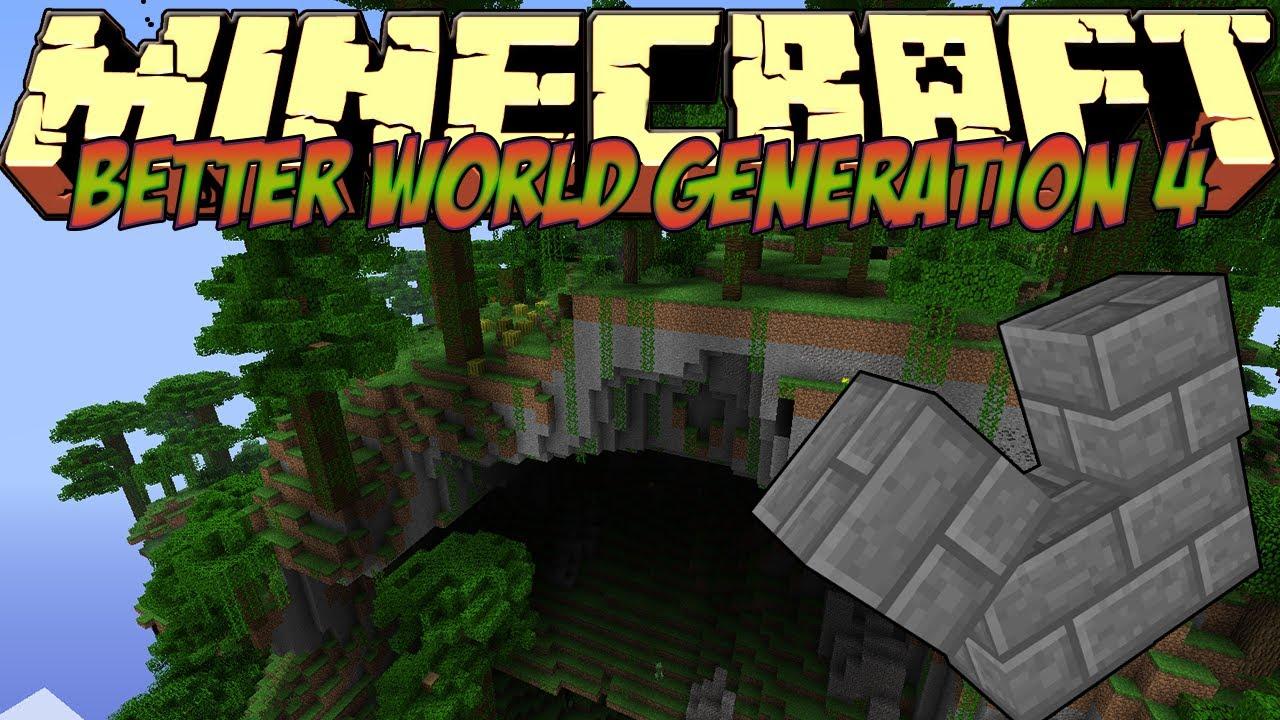 Custom world generator minecraft mod