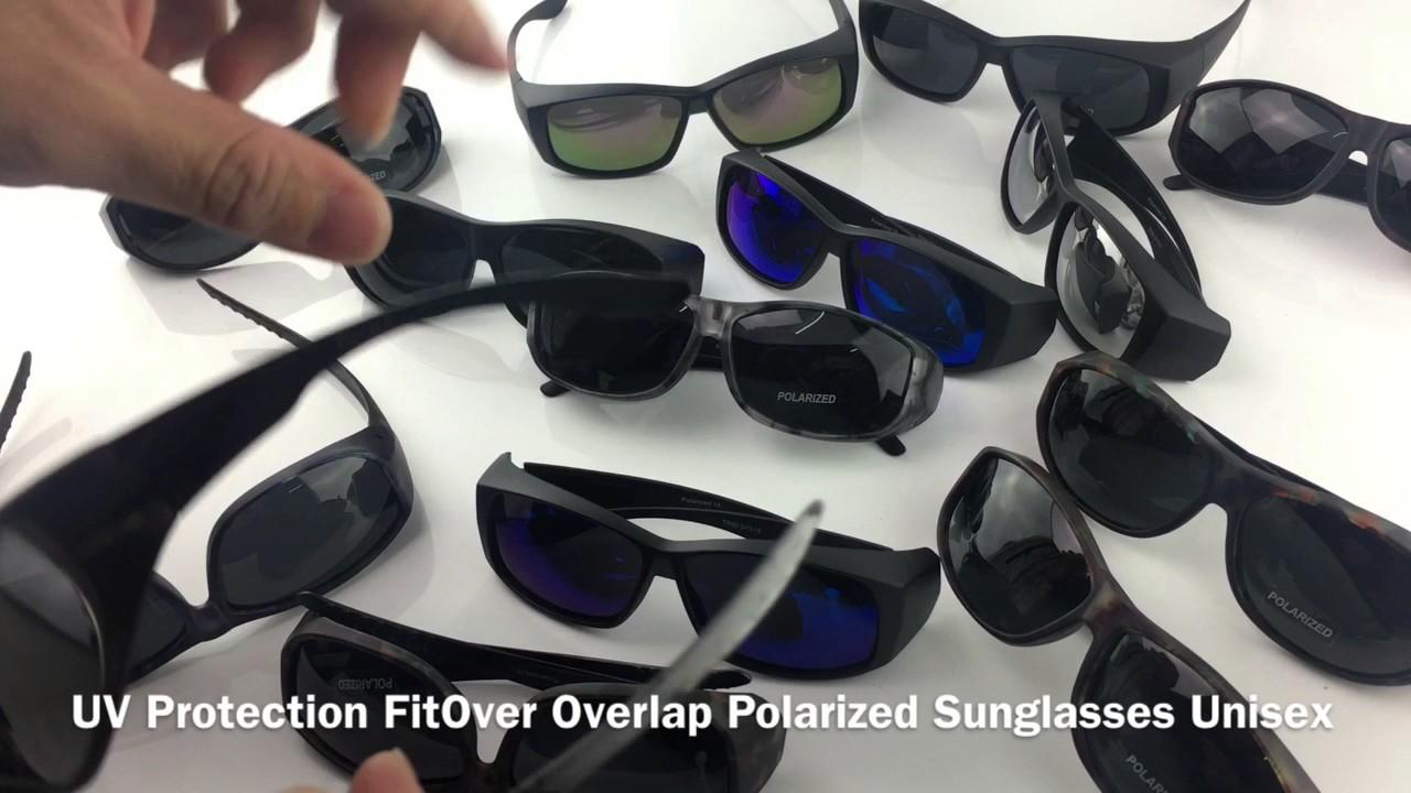 97c2db7017b TOP GRADE UV Protection FitOver Overlap Polarized Sunglasses Unisex ...