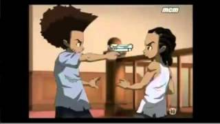 Download The Boondocks Riley Vs Huey French MP3 song and Music Video