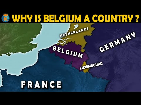 Why is Belgium a country? - History of Belgium in 11 Minutes