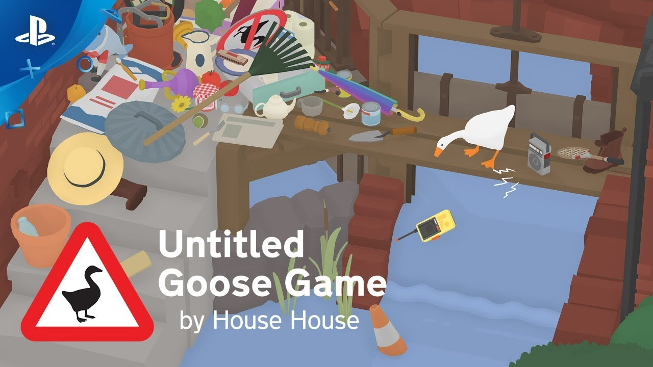 Untitled Goose Game - 正式预告片