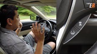 2015 Acura TLX Driving by Itself - LKAS Test Drive Review