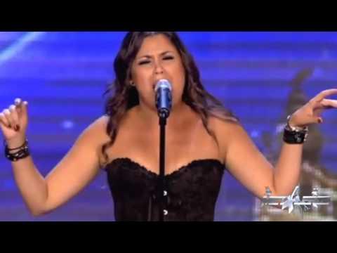 Cristina Ramos - Got Talent AC/DC Opera Rock - Highway to hell