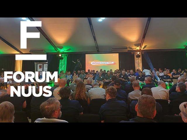 Forum Nuus: AfriForum-kongres: Kom ons versnel op pad na groter selfbestuur