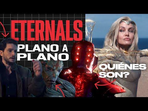 TRAILER ETERNALS: TODO EXPLICADO | Análisis PLANO a PLANO | Celestials, Deviants e historia