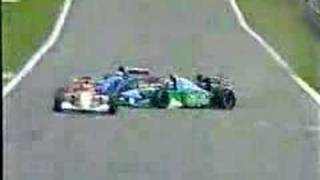 Eddie Irvine, Bad Crash in Brazil