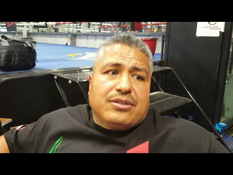 Robert Garcia explains why he let the boxing Academy go