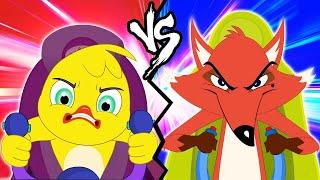 Eena vs 1000 Fox  Eena Meena Deeka  Funny Cartoon for Kids  Luci Kid Cartoons