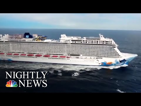 See Story: Cruise Ship Passenger Survives 10 Hours At Sea After Falling Overboard!