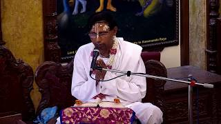 Satyanarayan Prabhu Lecture on Krishna Consciousness Activities Purifies Senses at ISKCON Chowpatty