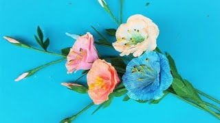 How to Make Beautiful Flowers | Crafty Making Beautiful Flowers | DIY Beautiful Flowers with Paper
