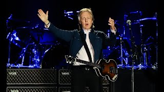 Paul McCartney se presentó ante 50 mil personas en Chile