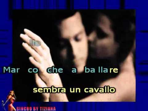 ANNA E MARCO - LUCIO DALLA BASE MUSICALE KARAOKE CON TESTO