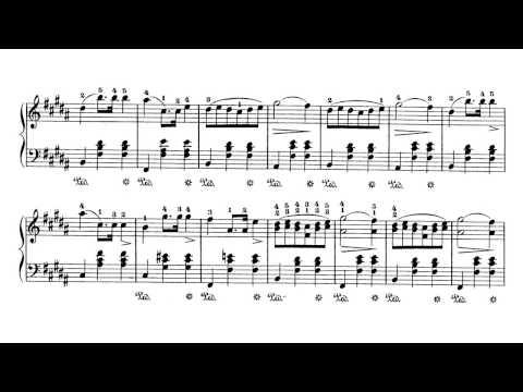 Chopin Waltz Op.69 No.2 (Ashkenazy)