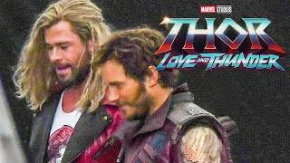 Thor 4 Love and Thunder First Look 2021 Breakdown - Marvel Phase 4 Easter Eggs