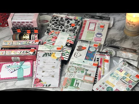HOBBY LOBBY CLEARANCE HAUL | PLANNER GOODIES | HAPPY PLANNER & PAPER STUDIO