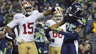 Richard Sherman wired vs. Michael Crabtree 2013 NFC Championship Game