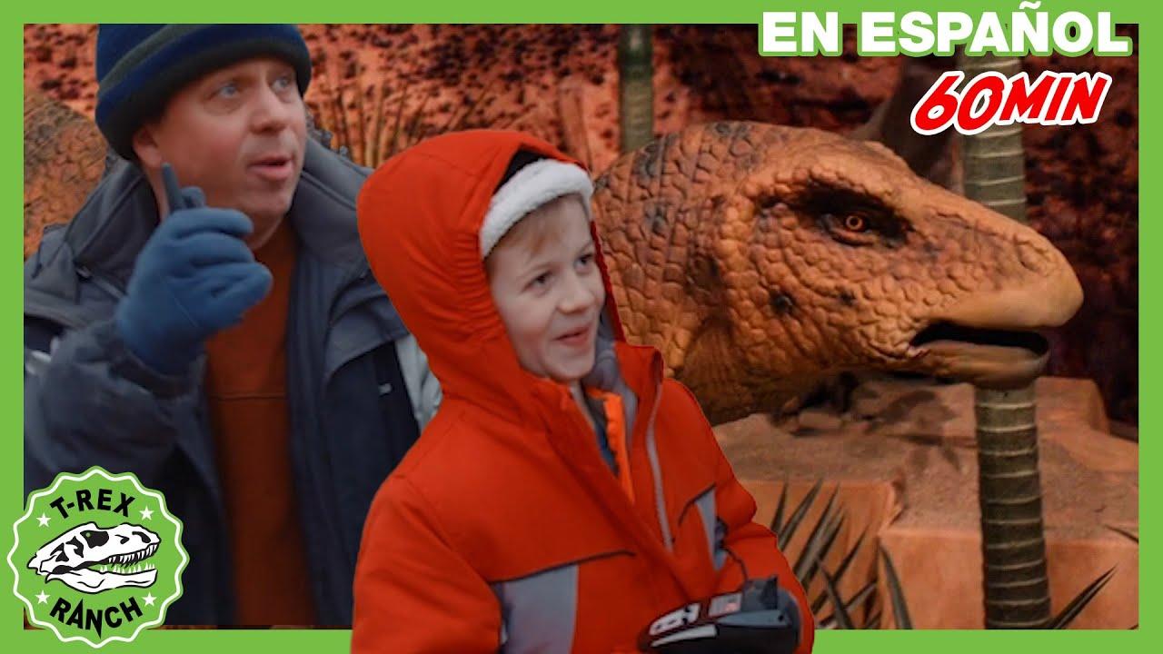 Parque de T-Rex | Mundo de Dinosaurios con Dinosaurios enormes de tamaño real