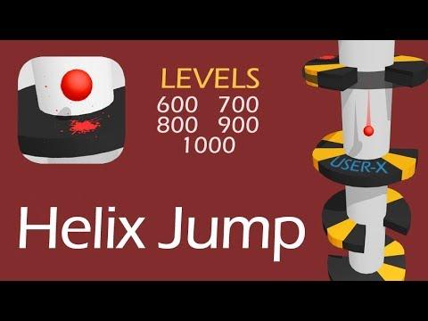 Helix Jump | LEVELS 600 - 700 - 800 - 900 - 1000