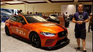 Why is the 2019 Jaguar XE SV Project 8 the ULTIMATE sedan