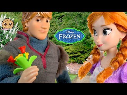 Disney Frozen Dolls Series Part 41 Prince Hans Wants To Marry Princess Anna Cookieswirlc Video