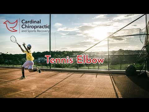 Tennis Elbow Pain and Stretch - Your Burlington NC Chiropractor