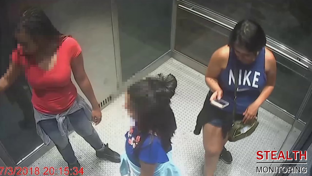 Fire Fighters Rescue Women Trapped in an Elevator