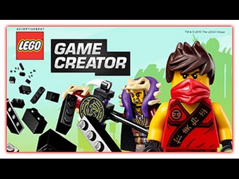 Lego Game Creator - Lego Game - New Game - YouTube